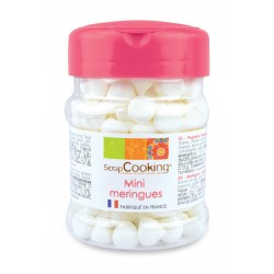 Pot de mini meringues blanches - 35 g