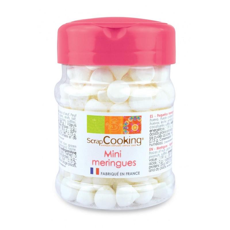 Pot de mini meringues blanches - 35 g