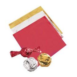 """Papier d'emballage aluminium Argenté """"Silver"""" - pk/50"""