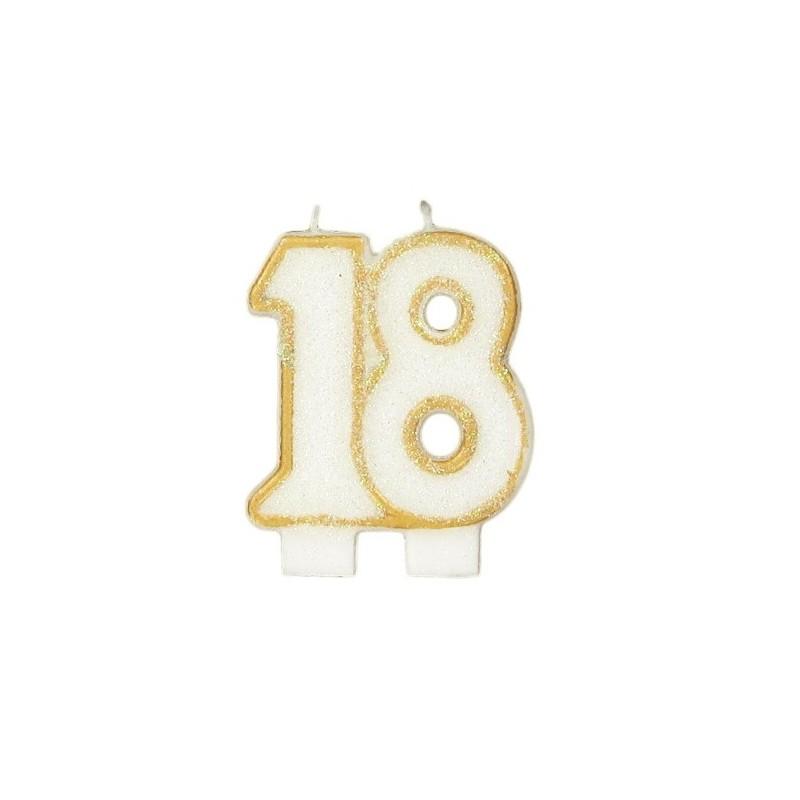 Bougies de fête -18- 1pc