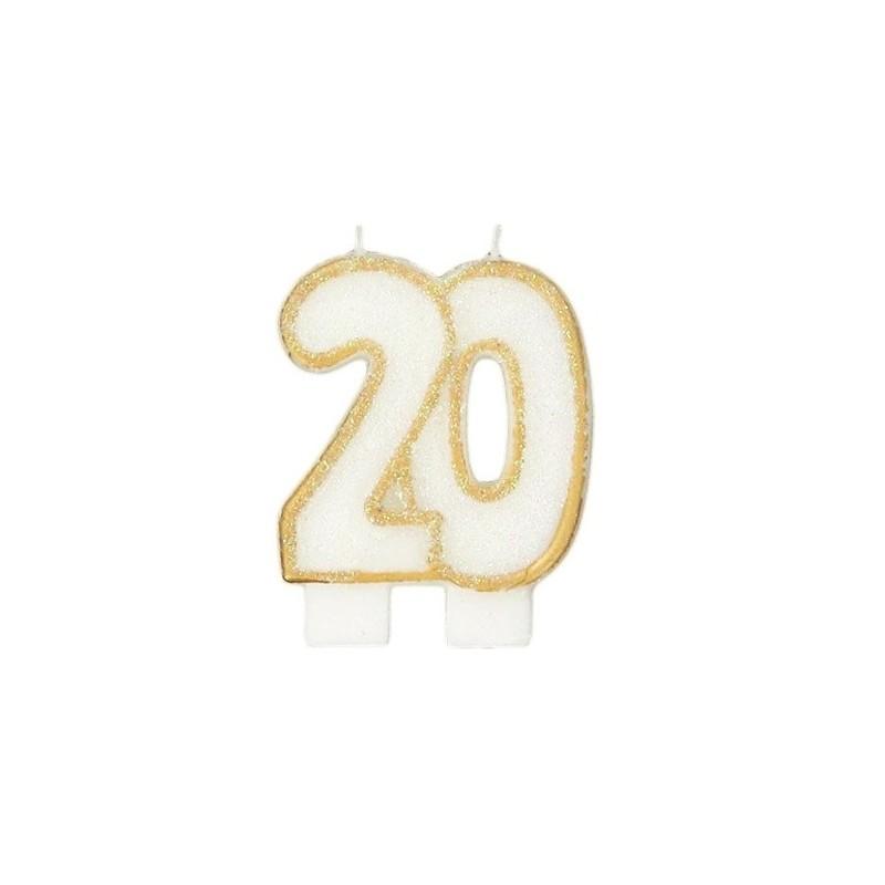 Bougies de fête -20- 1pc