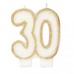 Bougies de fête -30- 1pc