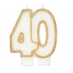Bougies de fête -40- 1pc