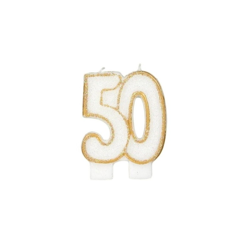 Bougies de fête -50- 1pc