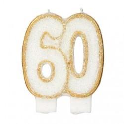 Bougies de fête -60- 1pc