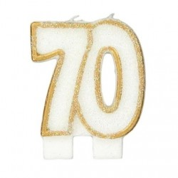 Bougies de fête -70- 1pc