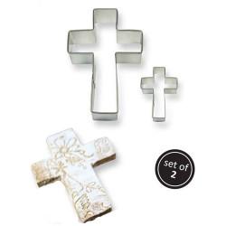 """Emportes-pièces """"croix"""" - set/2"""