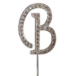 Lettre diamantée 'B' - 45mm