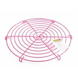 grille de refroidissement rose - 32cm