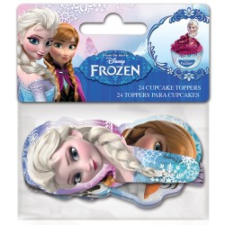 "Cupcake Toppers ""Frozen"" - 24pcs"