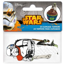 "Cupcake Toppers ""Star wars"" - 24pcs"