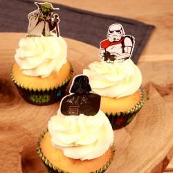 "Cupcake Toppers ""Star wars"" - 24pcs"