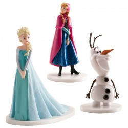 Figurines Reine des neiges - set de 3