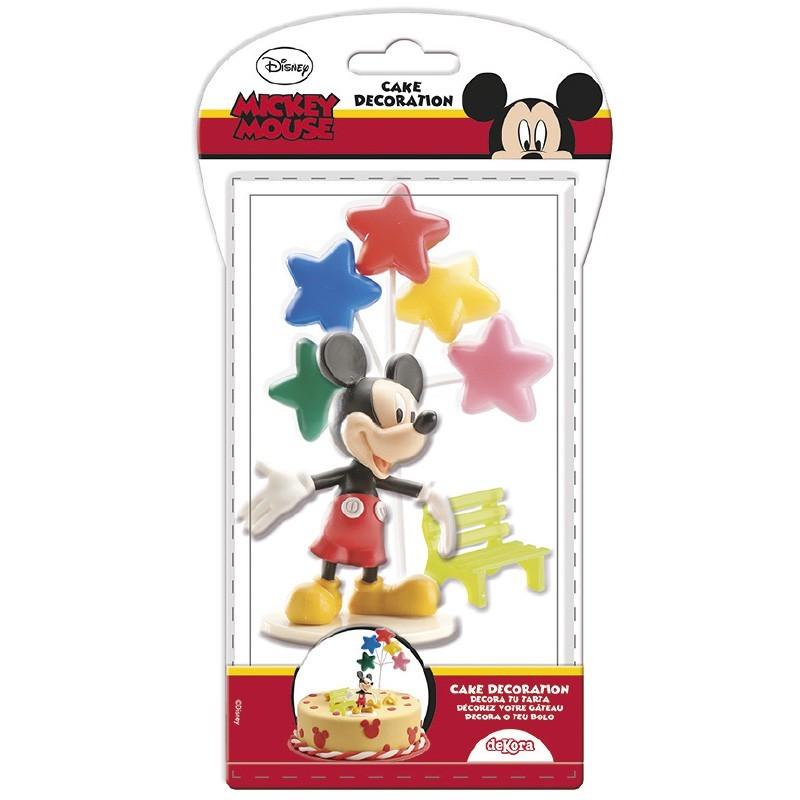 Kit de décoration de gâteau - Mickey