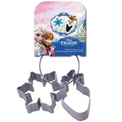 """Ensemble d'emporte-pièces en métal """"Frozen"""" - set/2"""