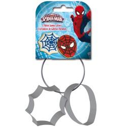 """Ensemble d'emporte-pièces en métal """"Spiderman"""" - set/2"""
