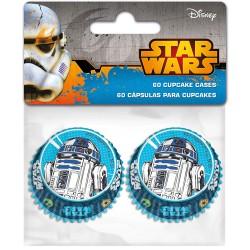 """Mini caissettes en papier """"Starwars"""" - pcs/60"""