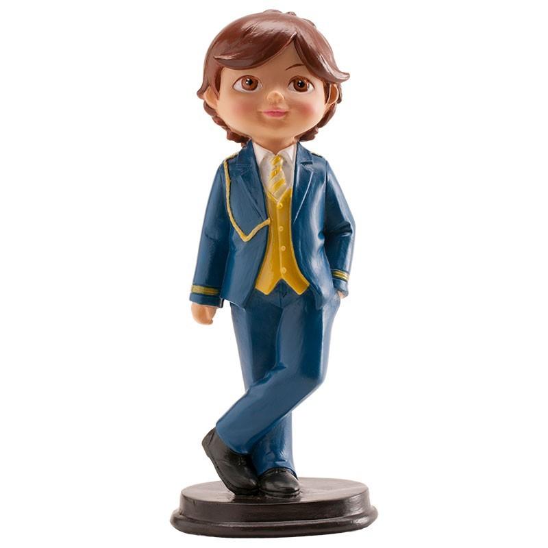 Figurine première communion garçon - 16 cm