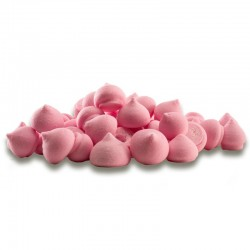 "Pot de mini meringues ""Rose"" - 90g"