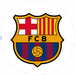 Disque azyme - FC Barcelona - 20cm