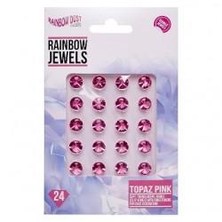 "Diamants comestible ""Topaz Pink"" - Rose - 24pcs"