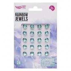 "Diamants comestible ""Sapphire"" - Bleu - 24pcs"