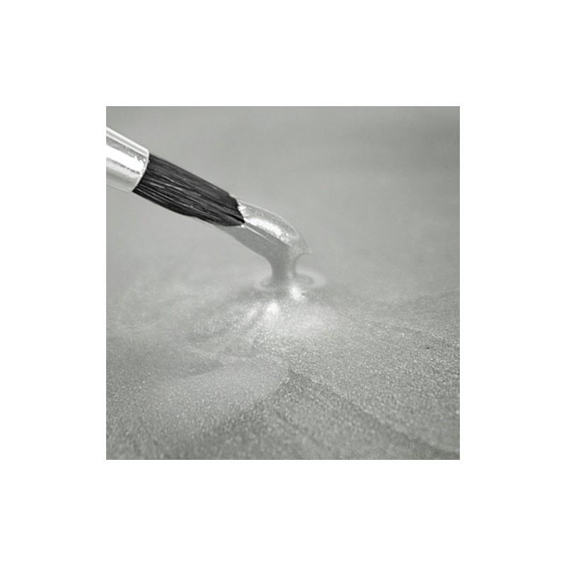 """Peinture Métallisée """"Pearlescent White"""" Blanc nacré - 25ml"""