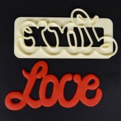 "Emporte pièce ""Love"""