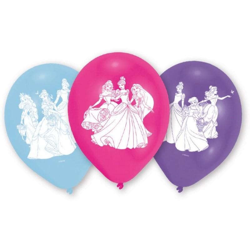 "Princesses ""Ballons"" - 6pcs"