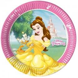 "Princesses ""Assiettes"" - 8pcs"