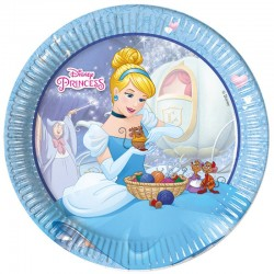 "Princesses ""Assiettes"" - 8pcs"