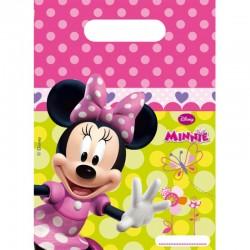 """Minnie Mouse """"Sachet fête"""" 6pcs"""