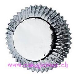 """Caissettes à cupcake Mini """"Silver"""" pk/36"""