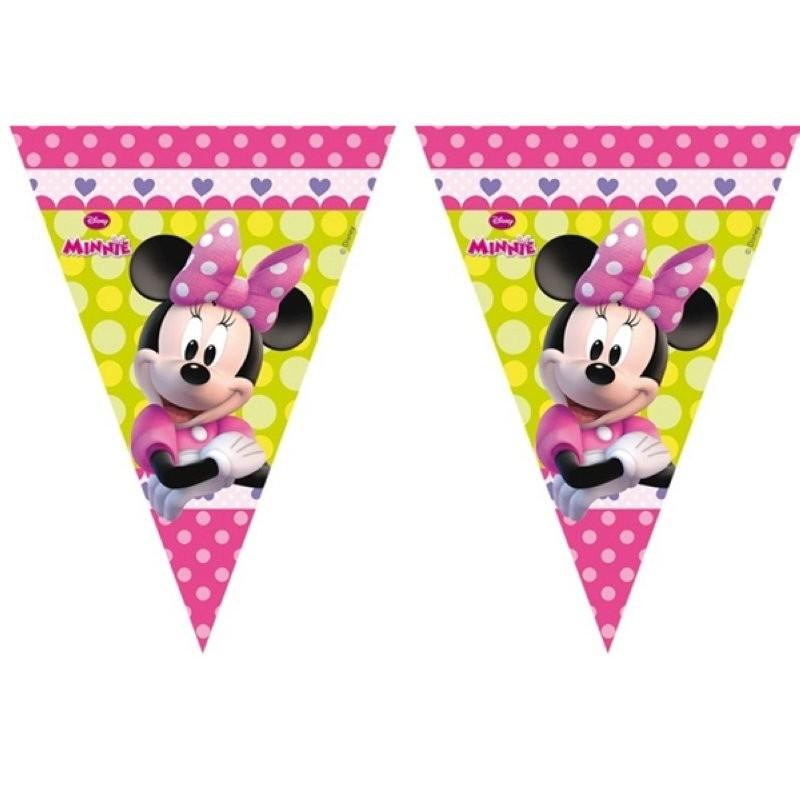 """Minnie Mouse """"Gurilande Drapeaux"""""""