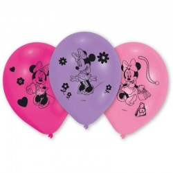 "Minnie Mouse ""Ballons"" - 10pcs"