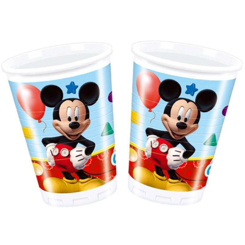 """Mickey """"Gobelets"""" - 8pcs"""
