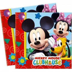 "Mickey ""Serviettes"" 20pcs"