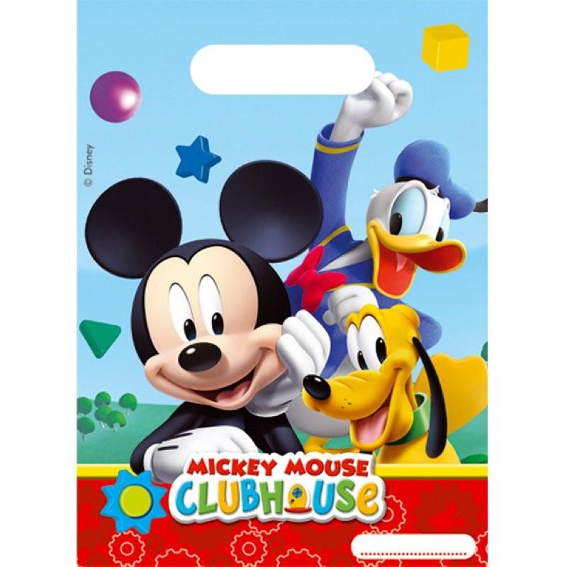 "Mickey Mouse ""Sachet fête"" 6pcs"