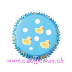 """Caissettes à cupcake Mini """"Ducky"""" pk/100"""
