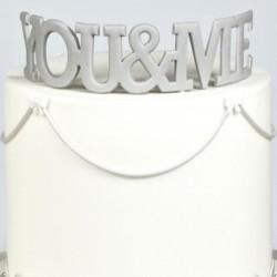 """Emporte pièce """"You&Me"""" - 13cm"""