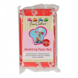 "Pâte de modelage ""Red"" Rouge - 250g"