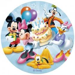 Disque azyme - Mickey & Co - 20cm