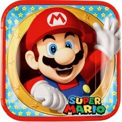 """assiettes"" Super Mario- 8pcs - 23cm"