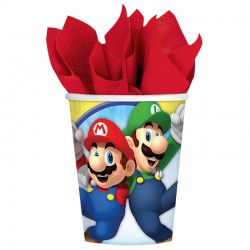 """gobelets"" Super Mario - 8pcs - 266ml"