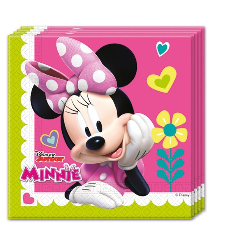 "Minnie ""Serviettes"" 20pcs"