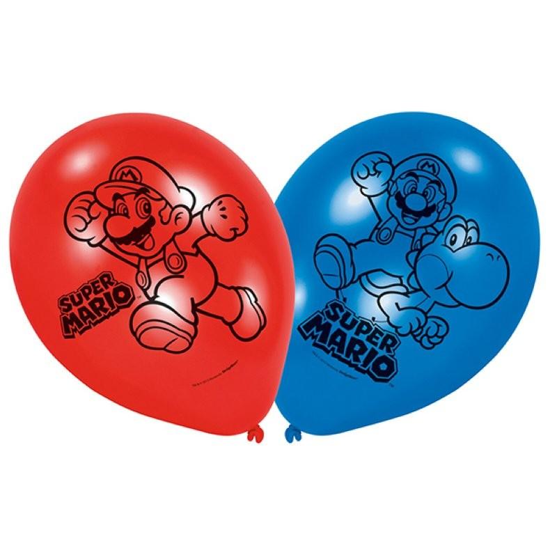 """Super Mario """"Ballon"""" - 10pcs"""