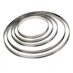 """Cercle à tarte """"Bords roulés"""" - 28cm"""