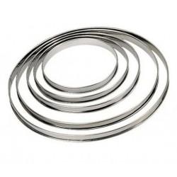 """Cercle à tarte """"Bords roulés"""" - 20cm"""