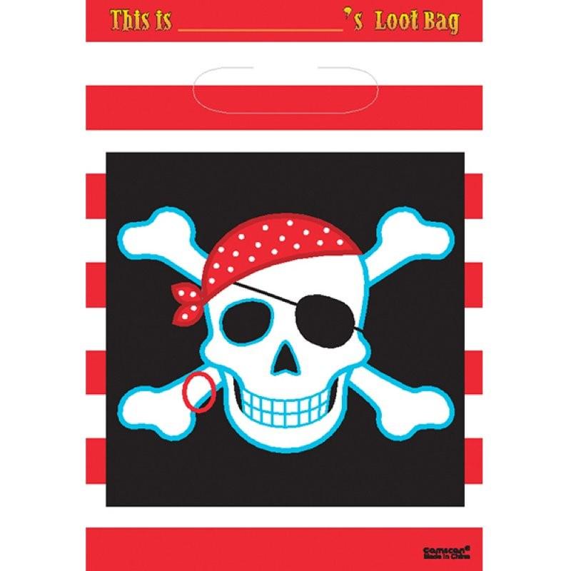 "Pirate ""Sachet fête"" 8pcs"