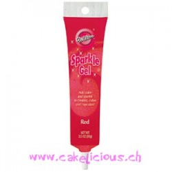 "Gel Pailleté ""Rouge"" 100 gr"